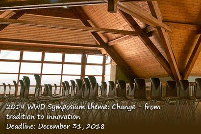 Second call for 2019 WWD Symposium papers and posters